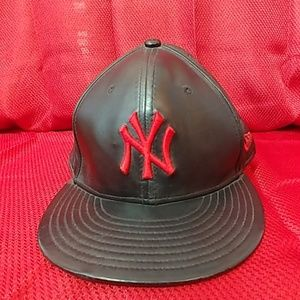 Black Yankees Hat by New Era